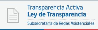 Ley de Transparencia - Subsecretaría de Redes Asistenciales