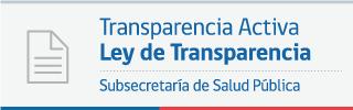 Ley de Transparencia - Subsecretaría de Salud Pública